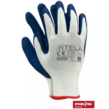 RTELA WN - rękawice ochronne powlekane latexem
