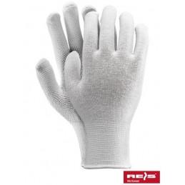RMICROLUX W- rękawice ochronne nakrapiane PCV
