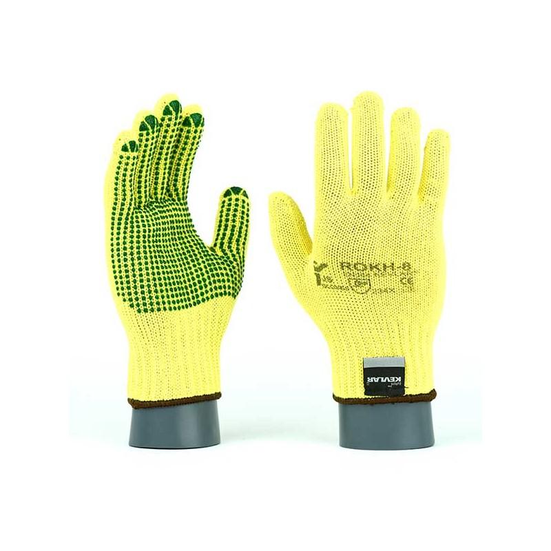 Grube-rękawice-ochronne-kevlarowe-przeciwprzecięciowe-termiczne - JS-GLOVES-ROKH-ROKHV