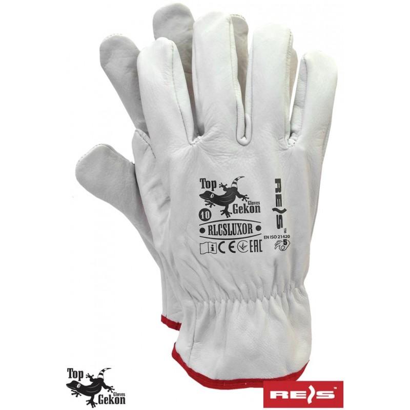 Rękawice-ochronne-całoskórzane - RLCSLUXOR
