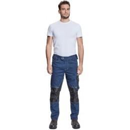 Męskie-spodnie-robocze-elastyczne-jeans - NEURUM-DENIM