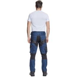 Spodnie-robocze-jeansowe-wzmocnione - NEURUM-DENIM