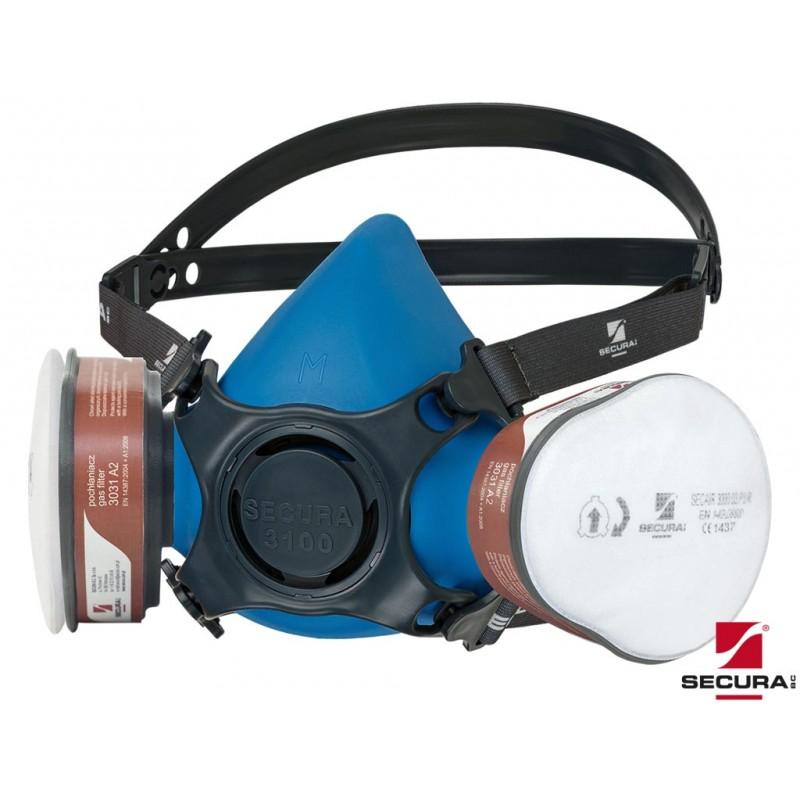 Zestaw-ochronny-A2-P3 - SECURA-3100-CHEM
