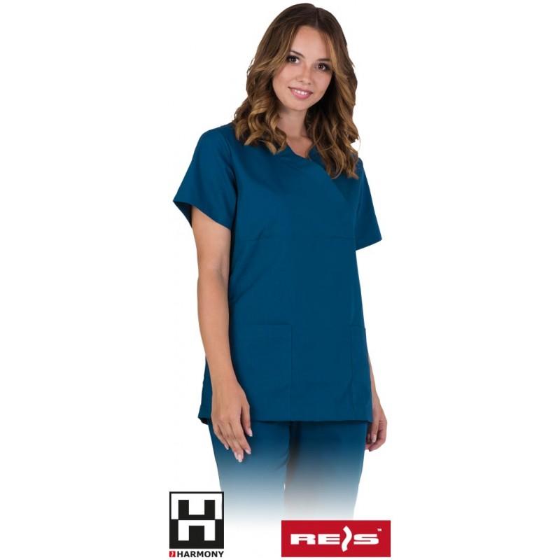 Damska-bluza-ochronna-cienka-bez-guzików - TRISTI-J