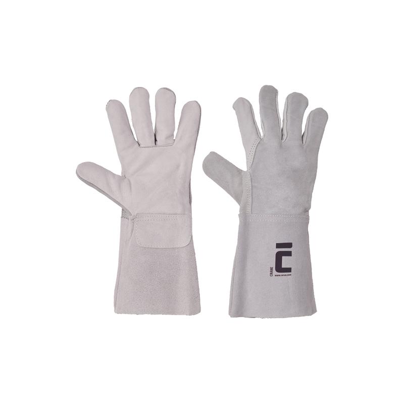 Rękawice-ochronne-spawalnicze-skóra-wołowa - CRANE