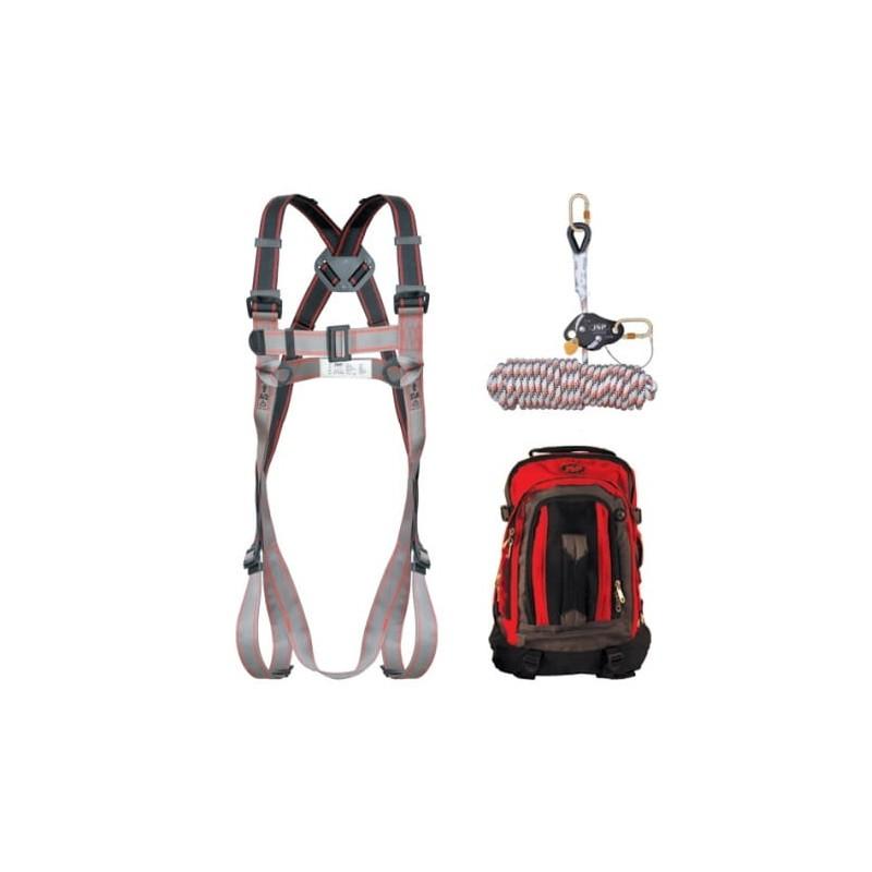 Szelki-bezpieczeństwa-lina-amortyzator-plecak - JSP-PIONEER-FAR-1105