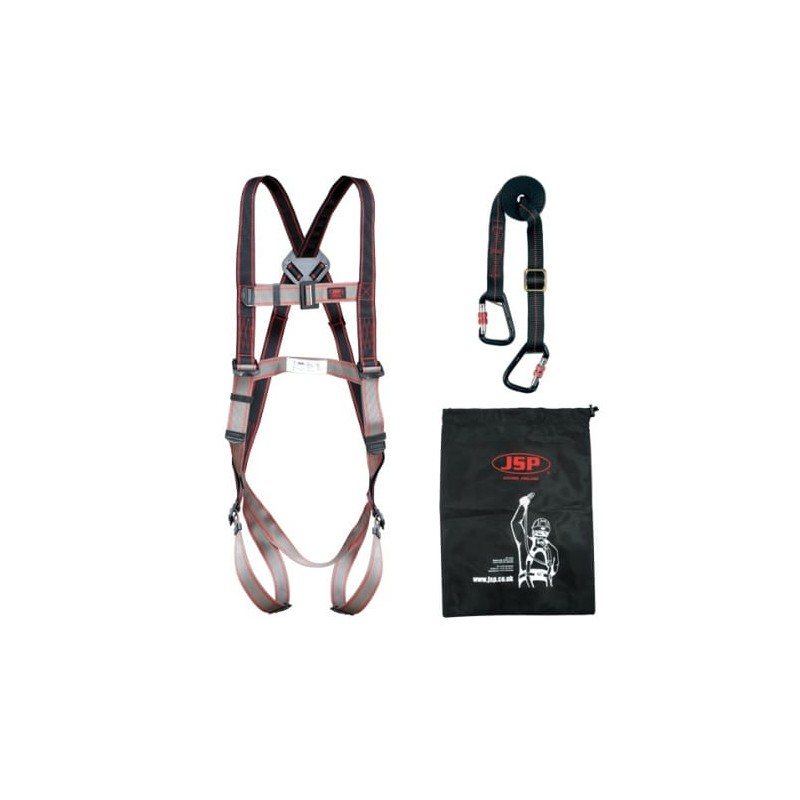 Szelki-bezpieczeństwa-linka-torba-zestaw - JSP-PIONEER-IPAF-FAR-1103