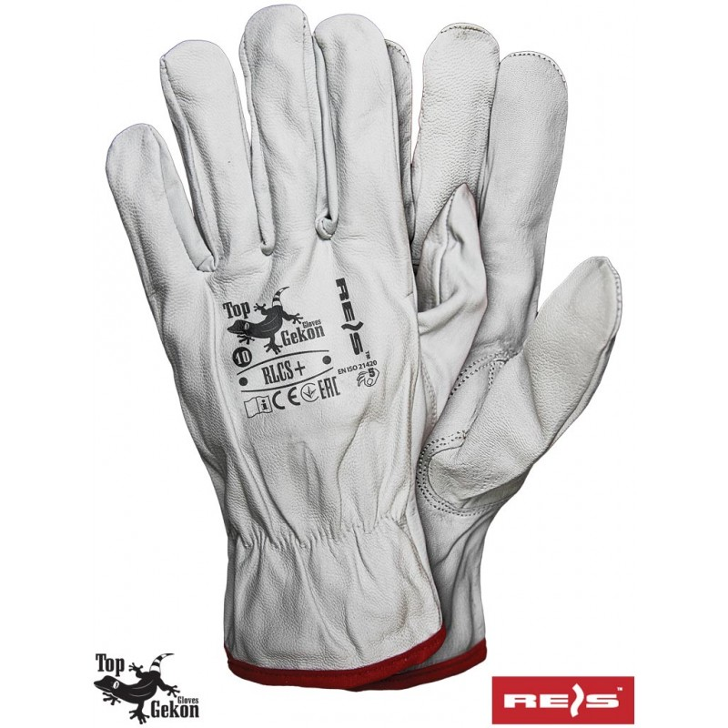 Rękawice-ochronne-całoskórzane-skóra-jagnięca - RLCS+