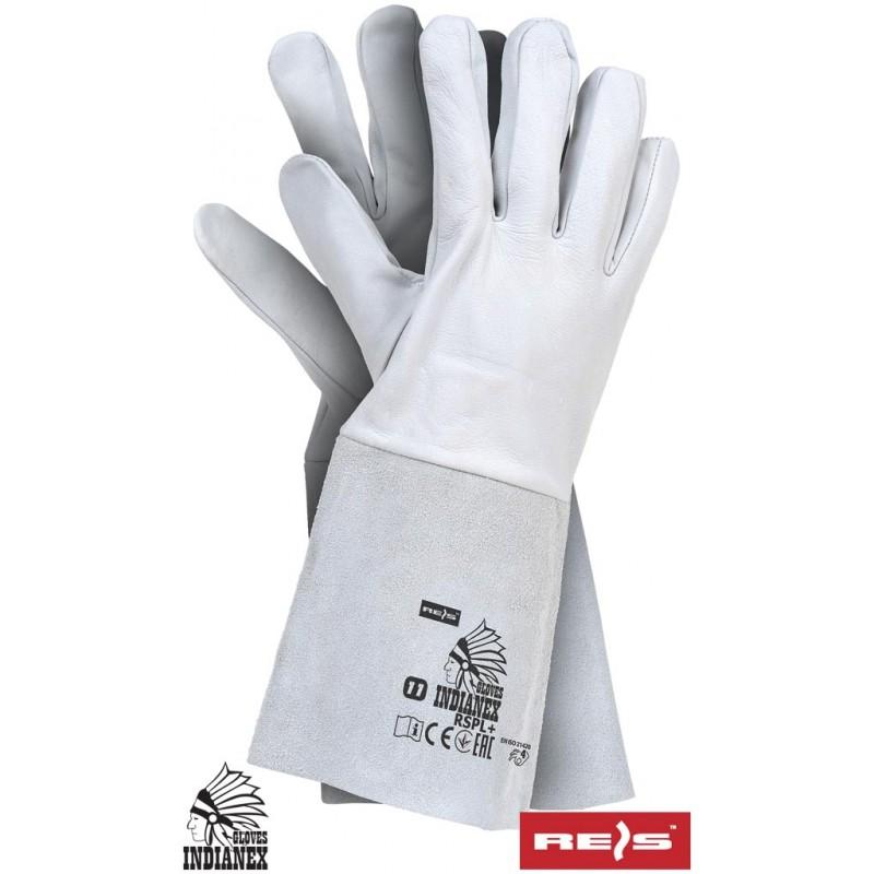 Rękawice-ochronne-skórzane-długie - RSPL+