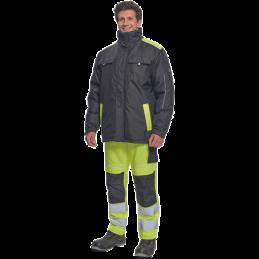 Męska-kurtka-zimowa-z-powłoką-poliuretanową - MAX-VIVO-PARKA