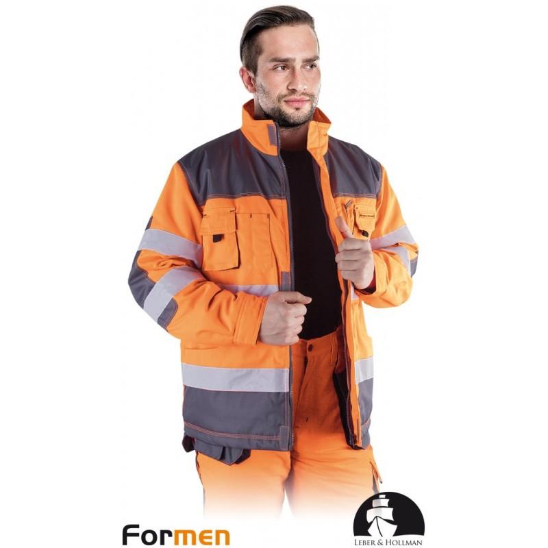 Kurtka-ochronna-ostrzegawcza-ocieplana - LH-FMNWX-J