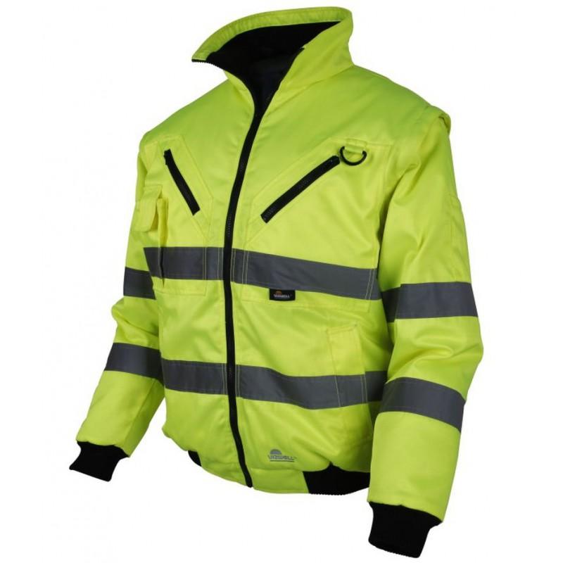 Krótka-kurtka-ostrzegawcza-z-podszewką-polarową - BETA-VWTC01