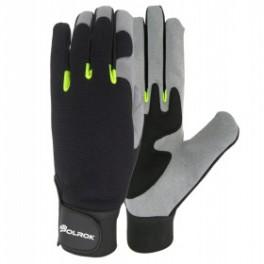 SS 9031- rękawice wzmacniane skórą syntetyczną