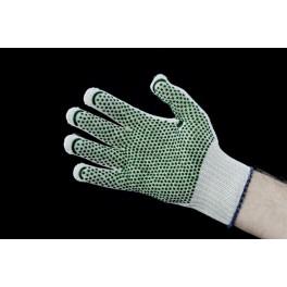 ROTBV - rękawiczki ochronne poliamid HT + bawełna nakrapiane