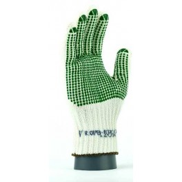 ROPB - rękawice ochronne  bawełniano - poliamidowe