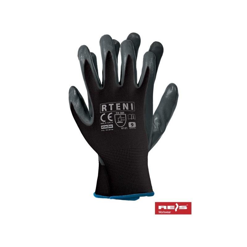 RTENI BS - rękawice ochronne powlekane nitrylem