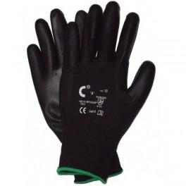 BRITA BLACK - rękawice powlekane poliuretanem