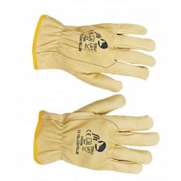 PALLIDA YELLOW - rękawice skórzane