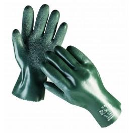 UNIVERSAL SZORSTKOWANE 32cm - rękawice ochronne powlekane PCV z nitrylem