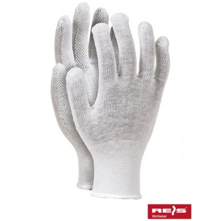 RMICRONCOT- rękawice ochronne nakrapiane PCV