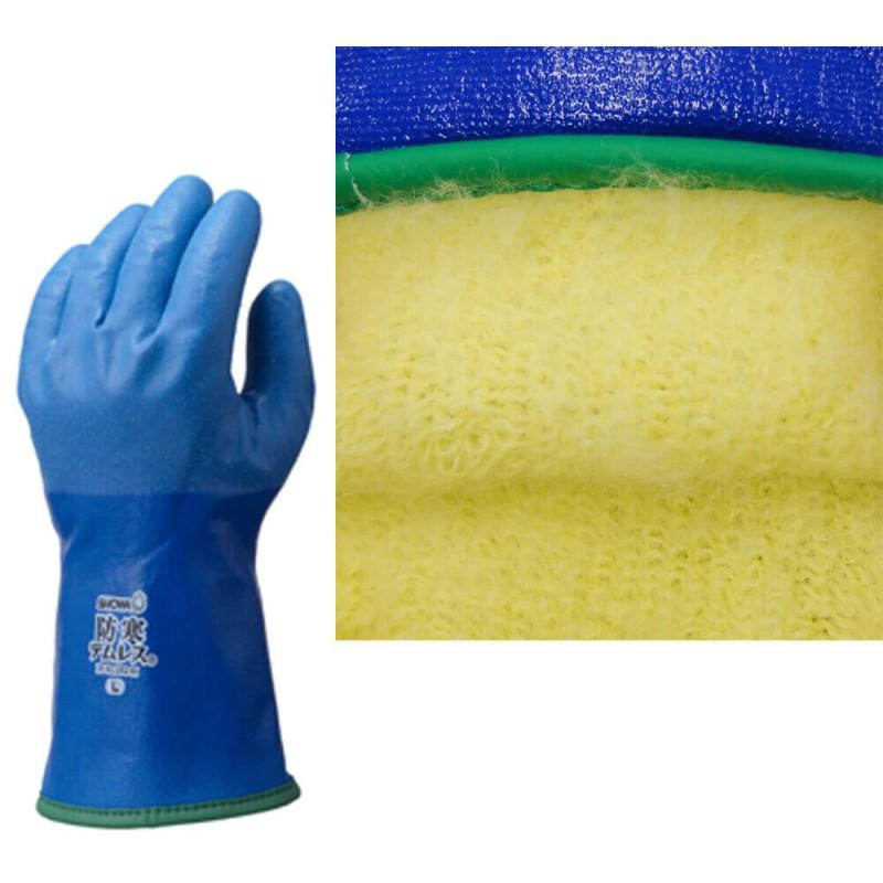 Rękawice-ocieplane-SHOWA-282-TEMRES- podwójna-powłoka-poliuretanowa