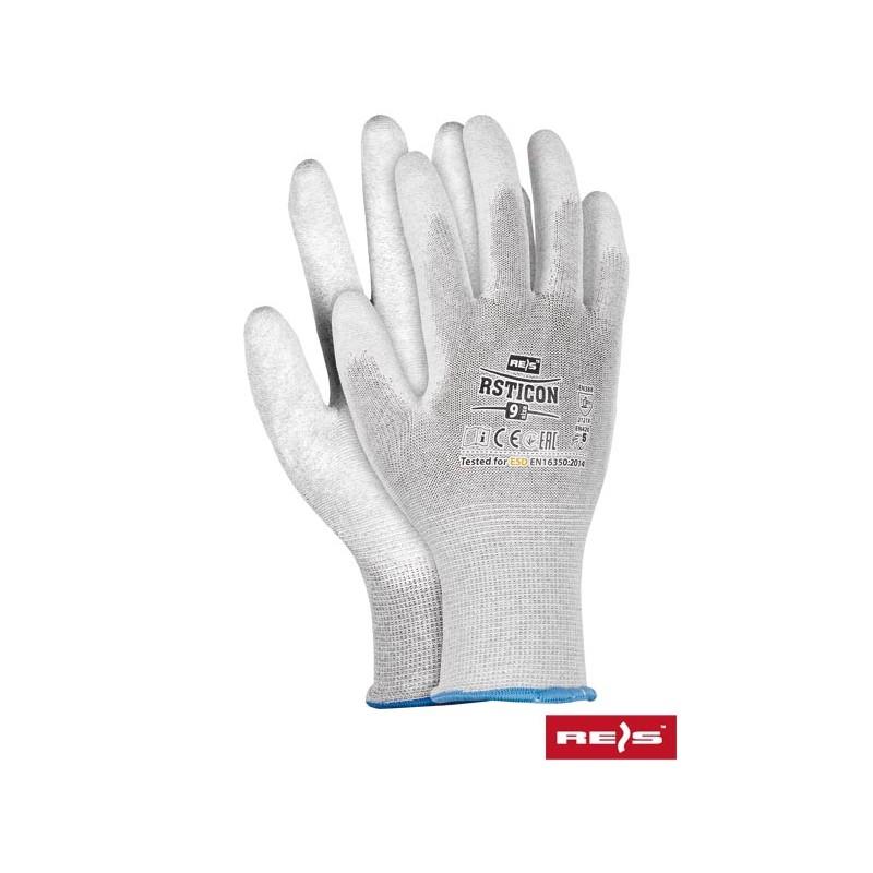Rękawice- antyelektrostatyczne-ESD-powlekane-PU-RSTICON