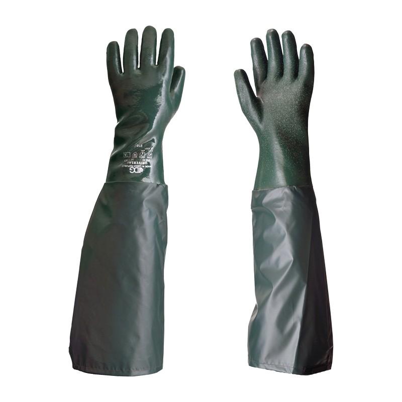Rękawice-chemoodporne-z rękawem-UNIVERSAL-NARĘKAWNIK-SZORSTKI-65-cm