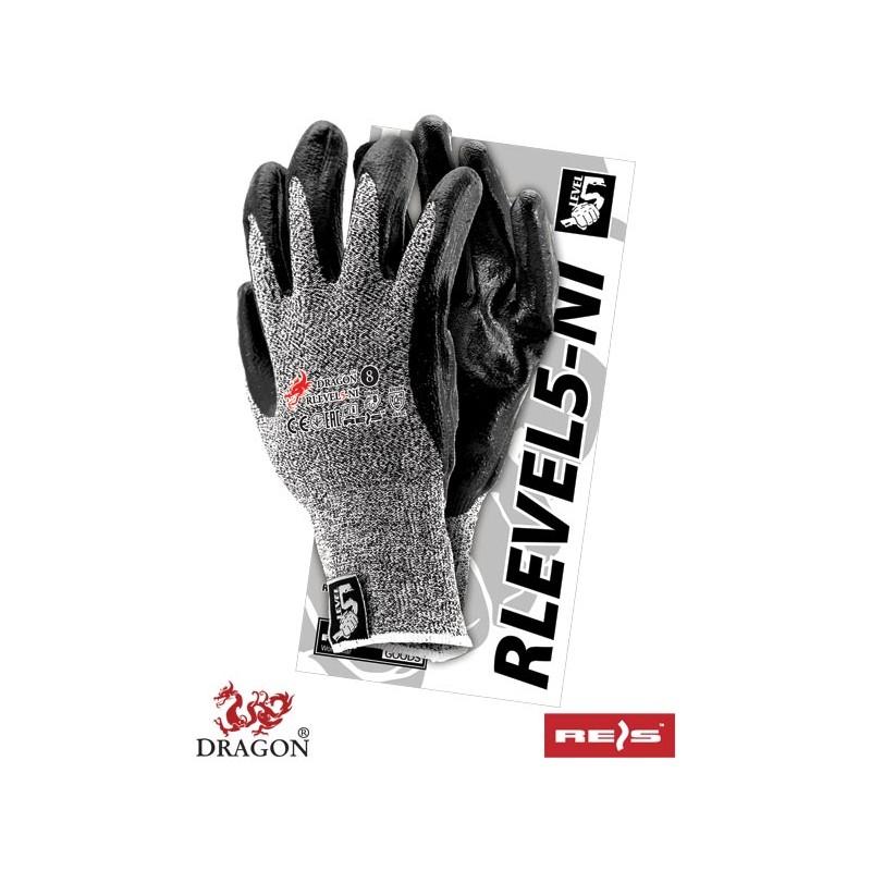 Rękawice-ochronne-antyprzecięciowe-powlekane-nitrylem-RLEVEL5-NI