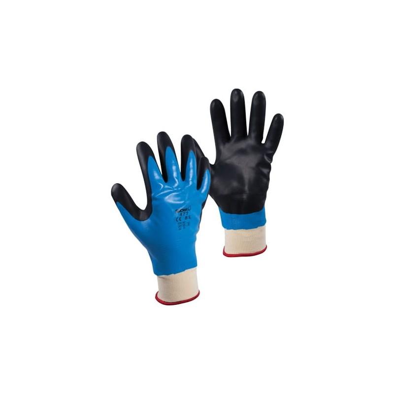 Rękawice-ocieplane-powlekane-pianką-nitrylową - SHOWA-477