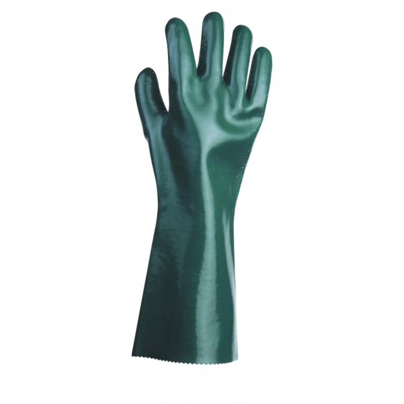 Rękawice-chemoodporne-powlekane-nitrylem-i-pvc - UNIVERSAL-GŁADKIE-45-cm