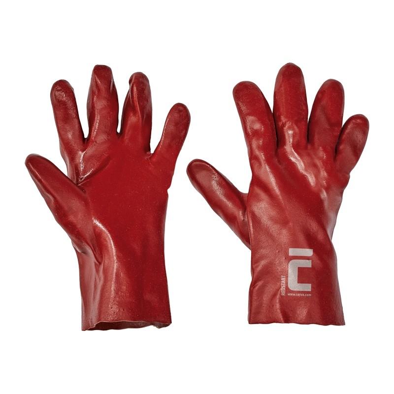 Rękawice-powlekane-pcv-27-cm - REDSTART