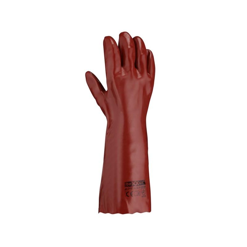 Rękawice-ochronne-powlekane-pcv-40-cm - TEXXOR-2172