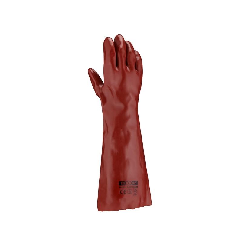 Rękawice-ochronne-powlekane-pcv-45-cm - TEXXOR-2173