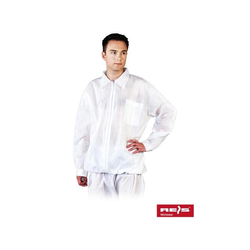 Bluza-polipropylenowa-biała - BFILS