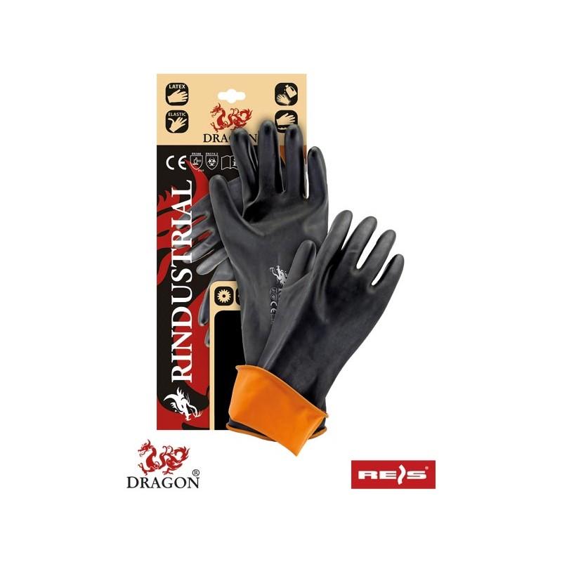 Rękawice-ochronne-gumowe-gładkie-35-cm - RINDUSTRIAL-35