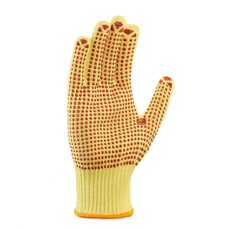 Rękawice-przeciwprzecięciowe-nakrapiane-PCV - TEXXOR-1972