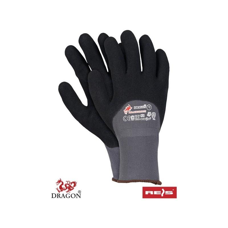 Rękawice -ochronne-powlekane-spienionym-nitrylem - RBLACKFOAM-H