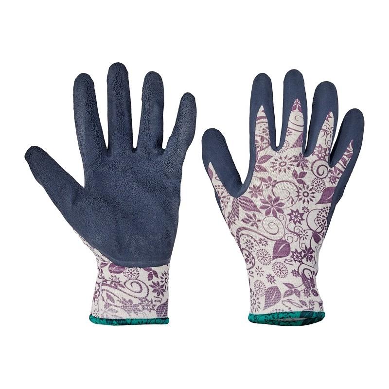 Rękawice-damskie-nylonowe-powlekane-lateksem - PINTAIL