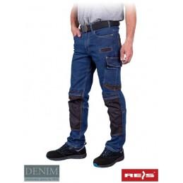 Męskie-spodnie-dżinsowe-do-pasa - JEANS330