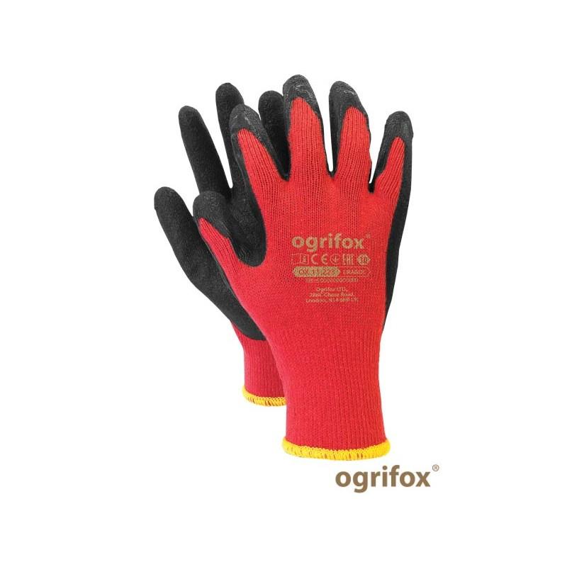 Rękawice-ochronne-powlekane-gumą - OX-DRAGOS