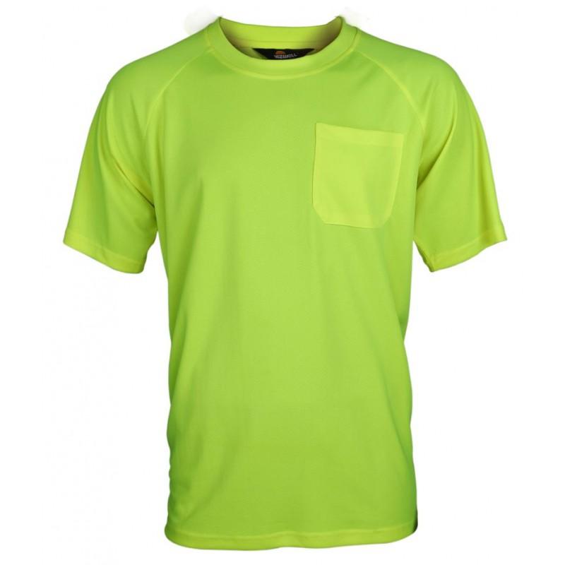 Koszulka-Coolpass-ostrzegawcza-bez-pasów-odblaskowych - VWTS10-A