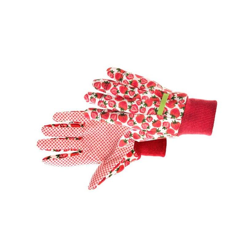 Komfortowe-rękawice-ochronne-bawełniane-z-nakropieniem-pcv - KIXX-FRESH-FRUIT