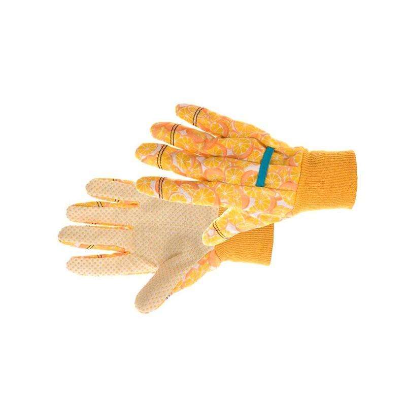 Komfortowe-rękawice-bawełniane-z-nakropieniem-pcv - KIXX-FUNKY-FRUIT
