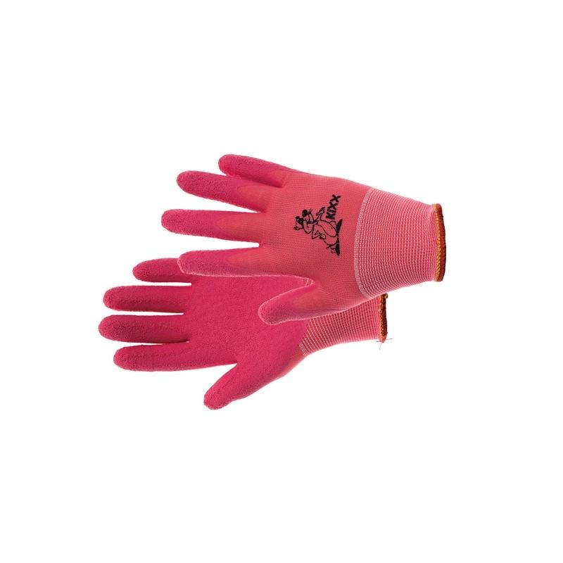 Komfortowe-rękawice-na-małe-dłonie-powlekane-lateksem - KIXX-LOLLIPOP