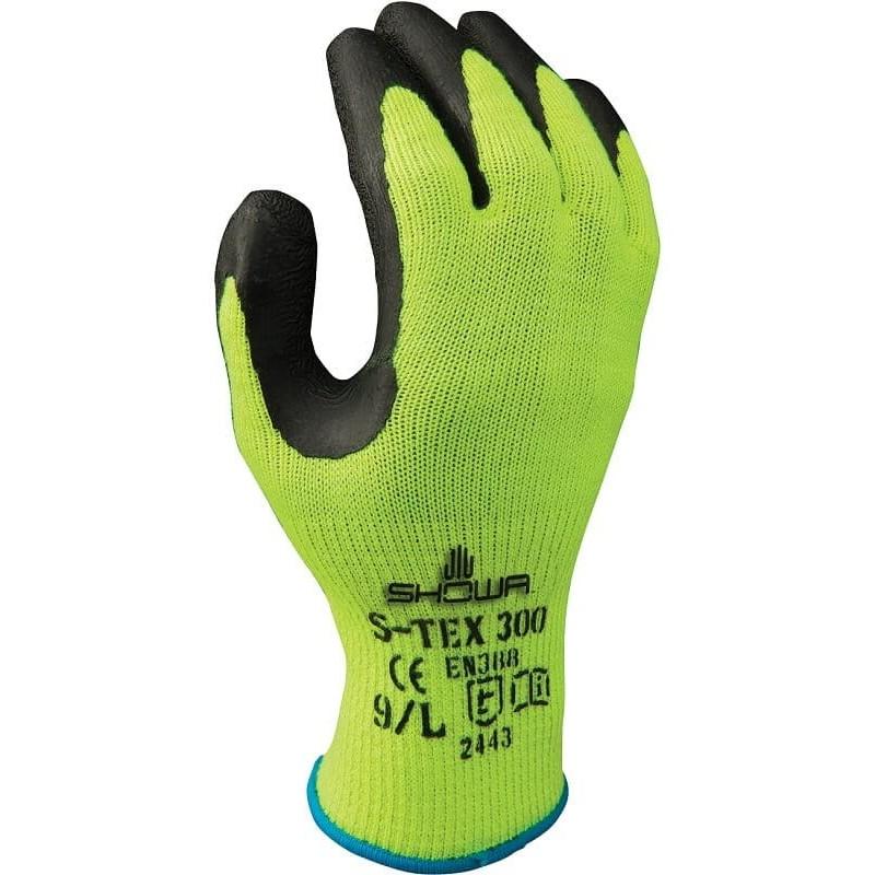 Rękawice-ochronne-przeciwprzecięciowe-powlekane-lateksem - SHOWA-S-TEX-300