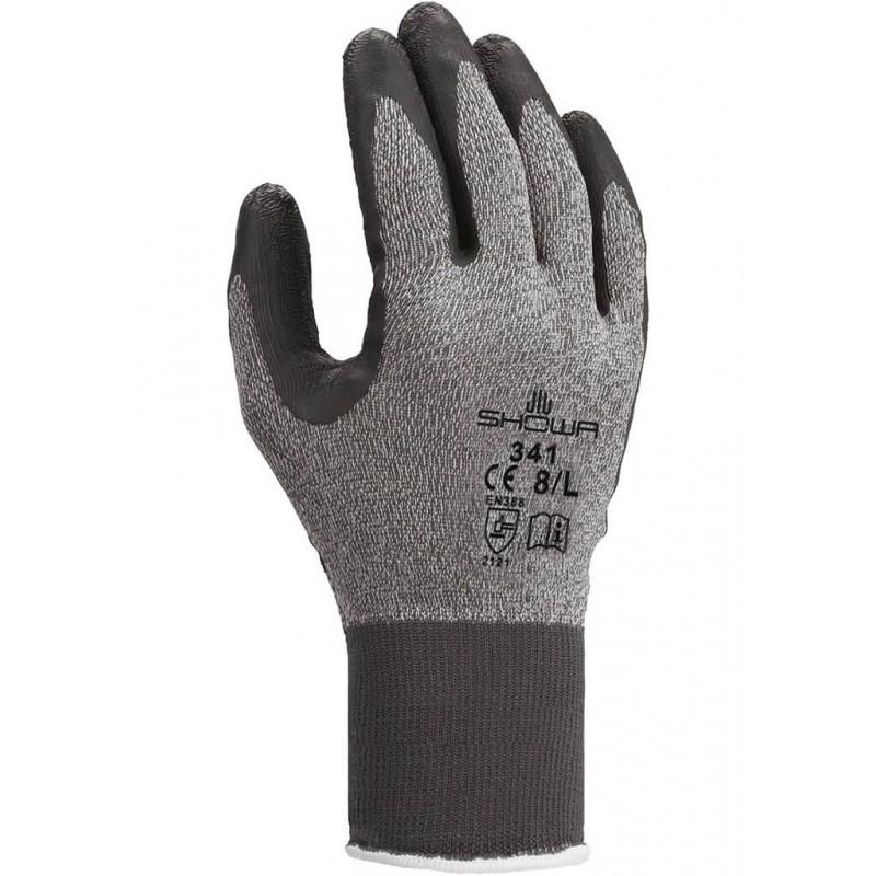 Rękawice-ochronne-powlekane-lateksem - SHOWA-341-Advanced-Grip-Technology