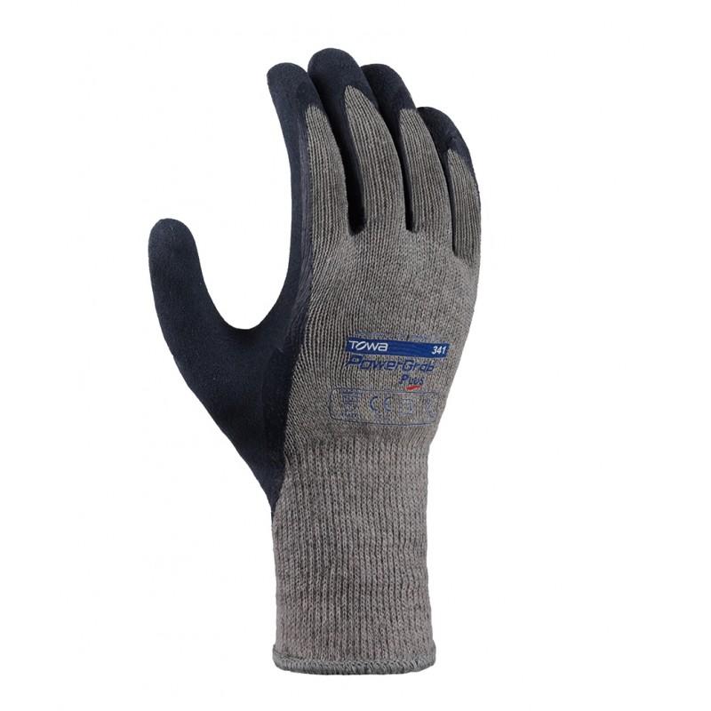 Rękawice-ochronne-powlekane-pianką-lateksową - TOWA-POWERGRAB-PLUS