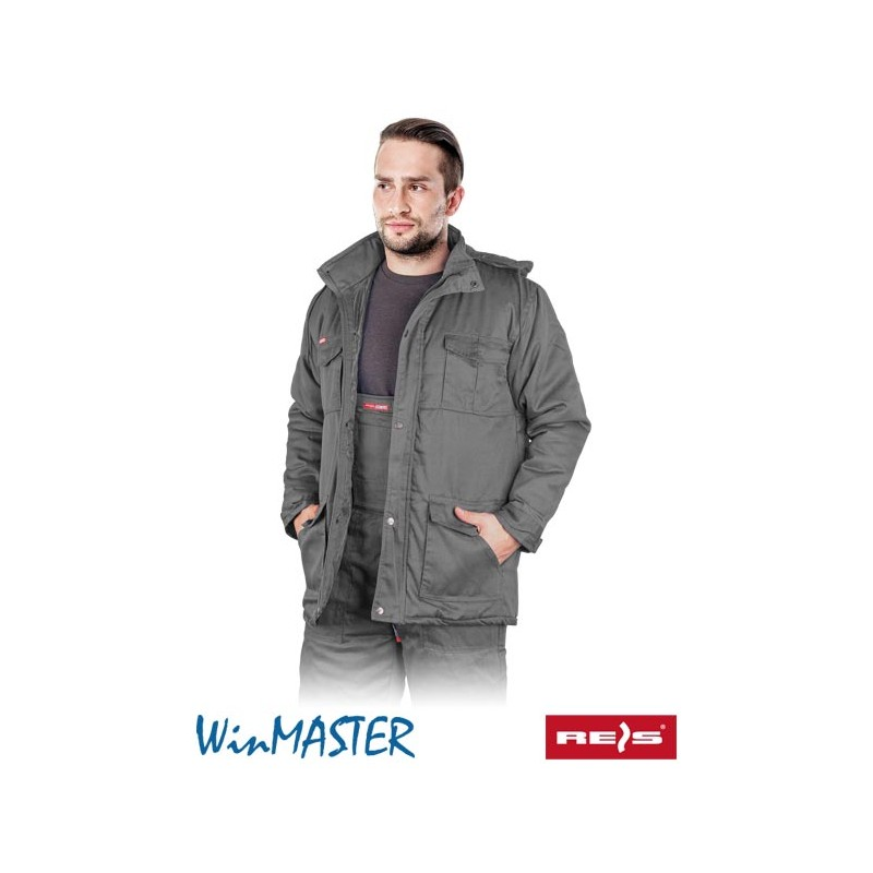 Kurtka-ochronna-męska-zimowa-MASTER - KMO-LONG