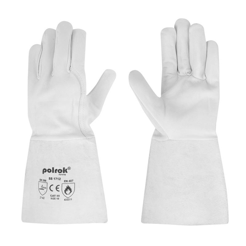 Rękawice-spawalnicze-skórzane-tig - POLROK-SS-1712