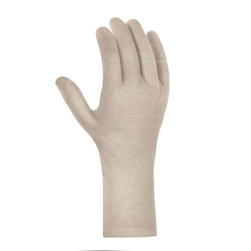 Długie-rękawice-dzianinowe-bawełniane - TEXXOR-1705